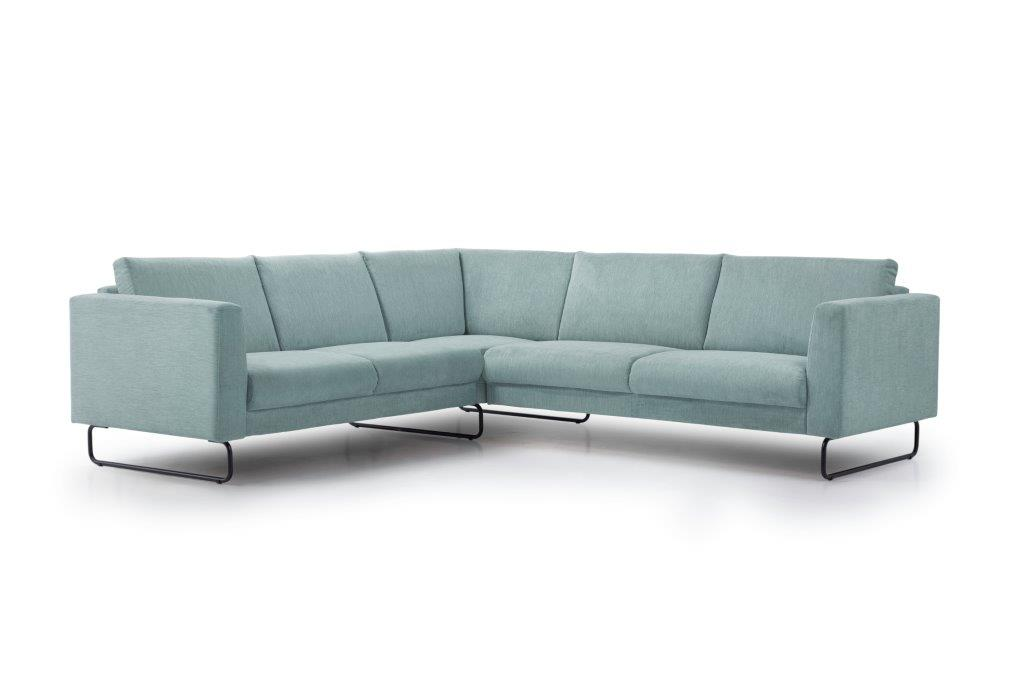 MARIO 2+90+2,5 (ORINOCO 29 sapphire) side softnord soft nord scandinavian style furniture modern interior design sofa bed chair pouf upholstery