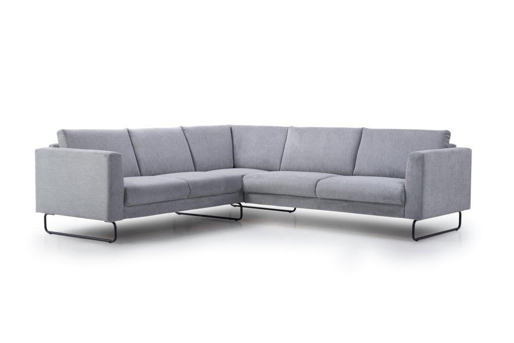 MARIO 2+90+2,5 (ORINOCO 3-1 light grey) side softnord soft nord scandinavian style furniture modern interior design sofa bed chair pouf upholstery