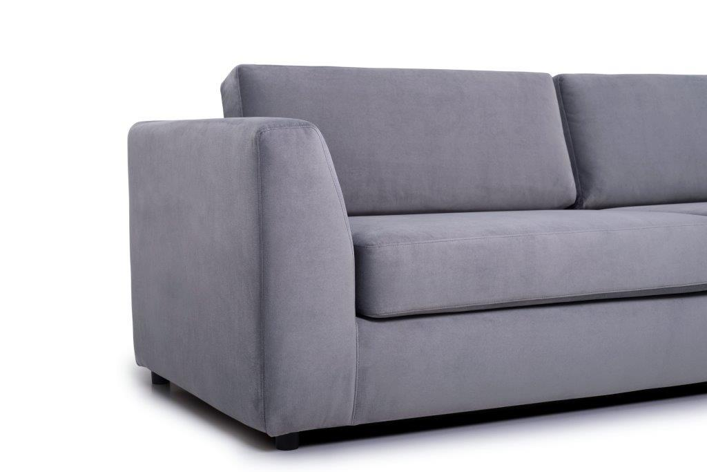 ORLANDO (TRENTO 3 grey) arm softnord soft nord scandinavian style furniture modern interior design sofa bed chair pouf upholstery