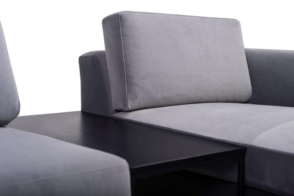 ORLANDO table (TRENTO 3 grey) softnord soft nord scandinavian style furniture modern interior design sofa bed chair pouf upholstery