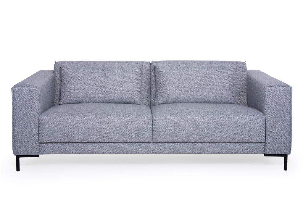 PIPPA 3 seater (CHARM 3 grey) (2) softnord soft nord scandinavian style furniture modern interior design sofa bed chair pouf upholstery