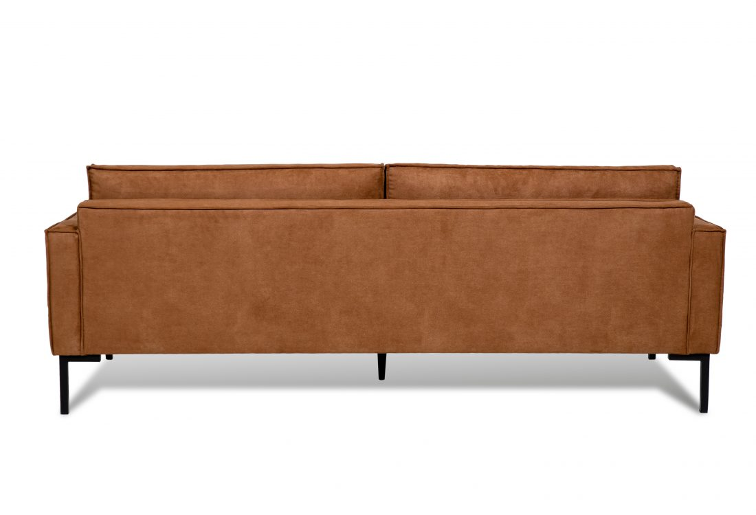 PREGO 3 seater (MINDELO 5 brown) back