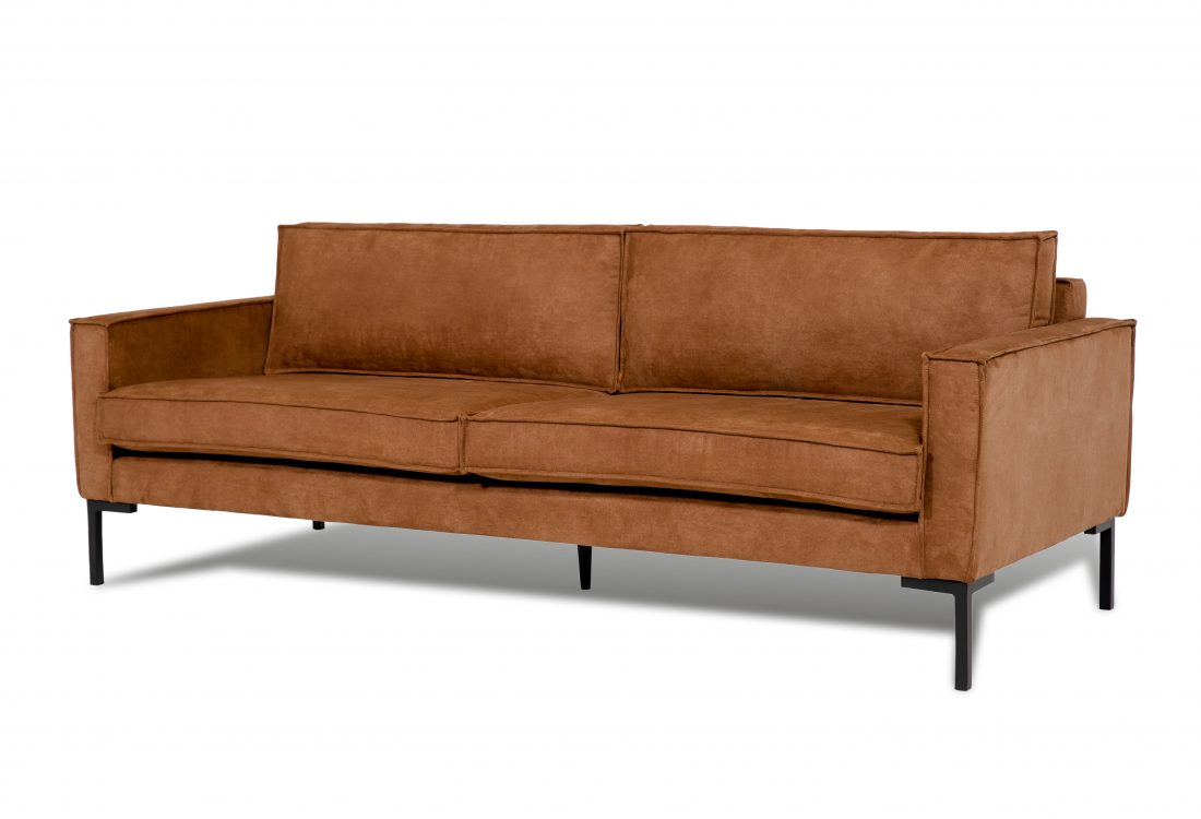 PREGO 3 seater (MINDELO 5 brown) side