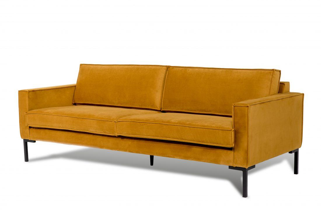 PREGO 3 seater (RIVIERA 21 mustard) side