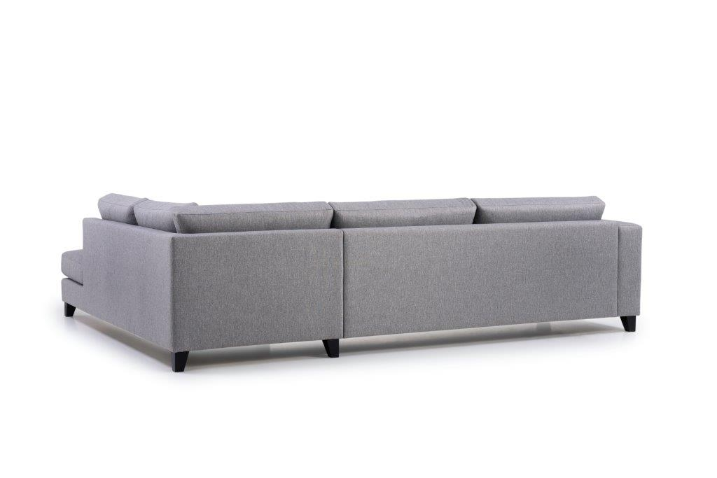 TROJA open corner (ROSITA 3 grey) back