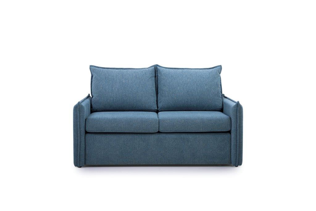 CHESTER 2-seater (HEM 16,1 light blue) front softnord soft nord scandinavian style furniture modern interior design sofa bed chair pouf upholstery