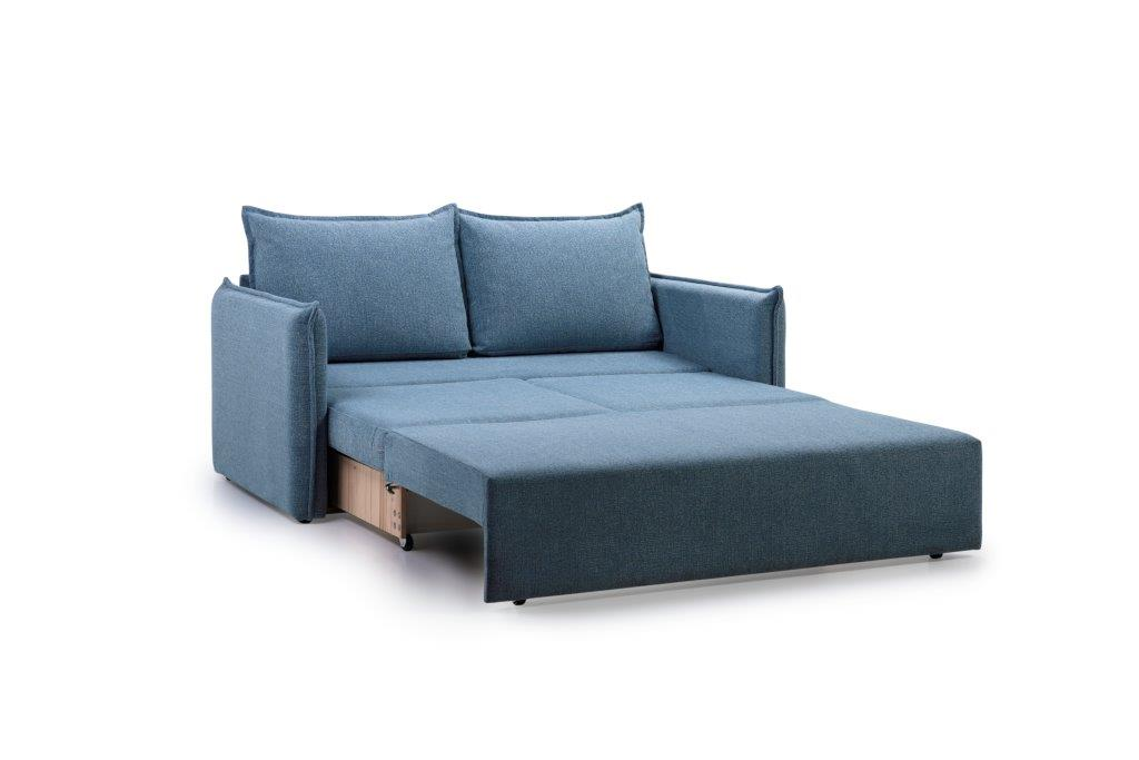 CHESTER 2-seater (HEM 16,1 light blue) open softnord soft nord scandinavian style furniture modern interior design sofa bed chair pouf upholstery