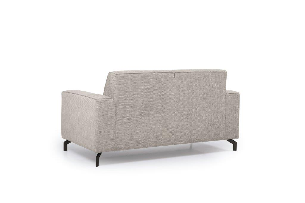 LESLY 2 seater (RAMIRA 14 latte) back softnord soft nord scandinavian style furniture modern interior design sofa bed chair pouf upholstery