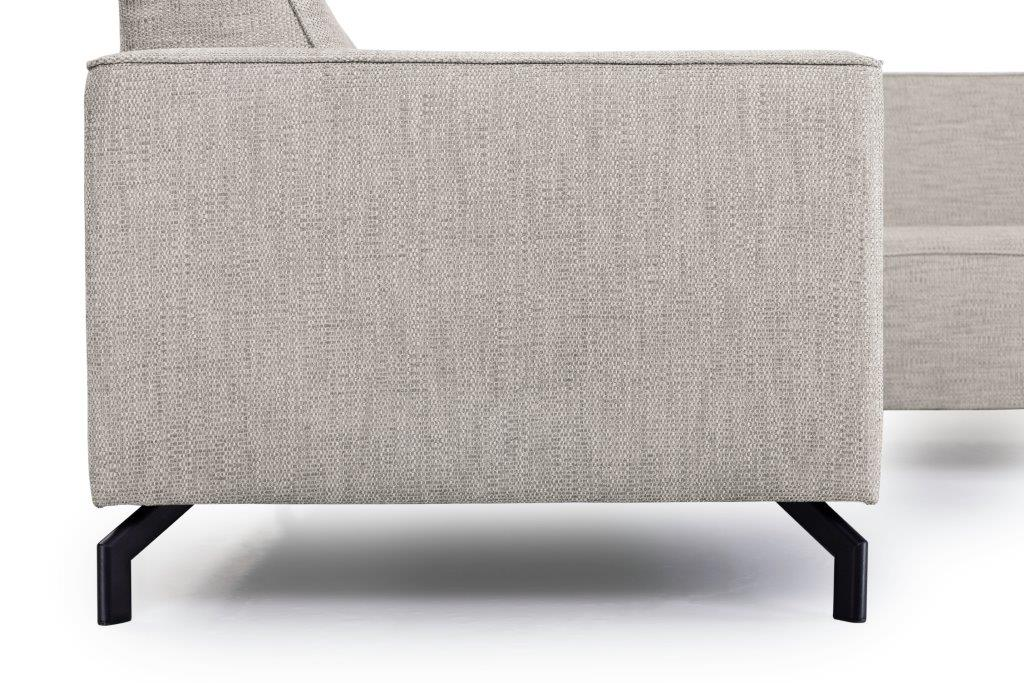 LESLY 2+90+3 (RAMIRA 14 latte) arm+legs softnord soft nord scandinavian style furniture modern interior design sofa bed chair pouf upholstery