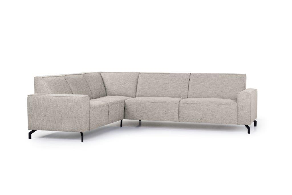 LESLY 2+90+3 (RAMIRA 14 latte) side softnord soft nord scandinavian style furniture modern interior design sofa bed chair pouf upholstery
