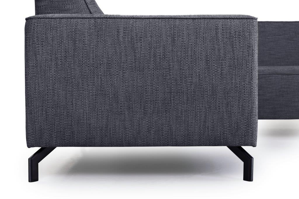 LESLY 2+90+3 (RAMIRA 7 antrazite) arm+legs softnord soft nord scandinavian style furniture modern interior design sofa bed chair pouf upholstery
