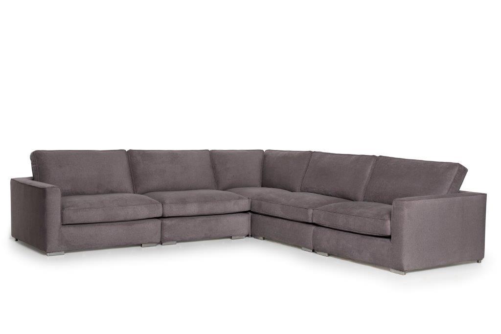 LORRA 1.5 + 1.5 + 90 + 1.5 + 1.5 (LANA 3_2 dark grey) softnord soft nord scandinavian style furniture modern interior design sofa bed chair pouf upholstery