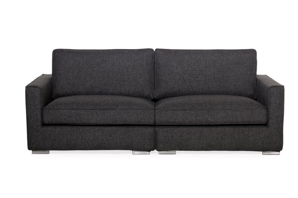 LORRA 1.5+1.5 (NETO 7 antrazite) (2) softnord soft nord scandinavian style furniture modern interior design sofa bed chair pouf upholstery