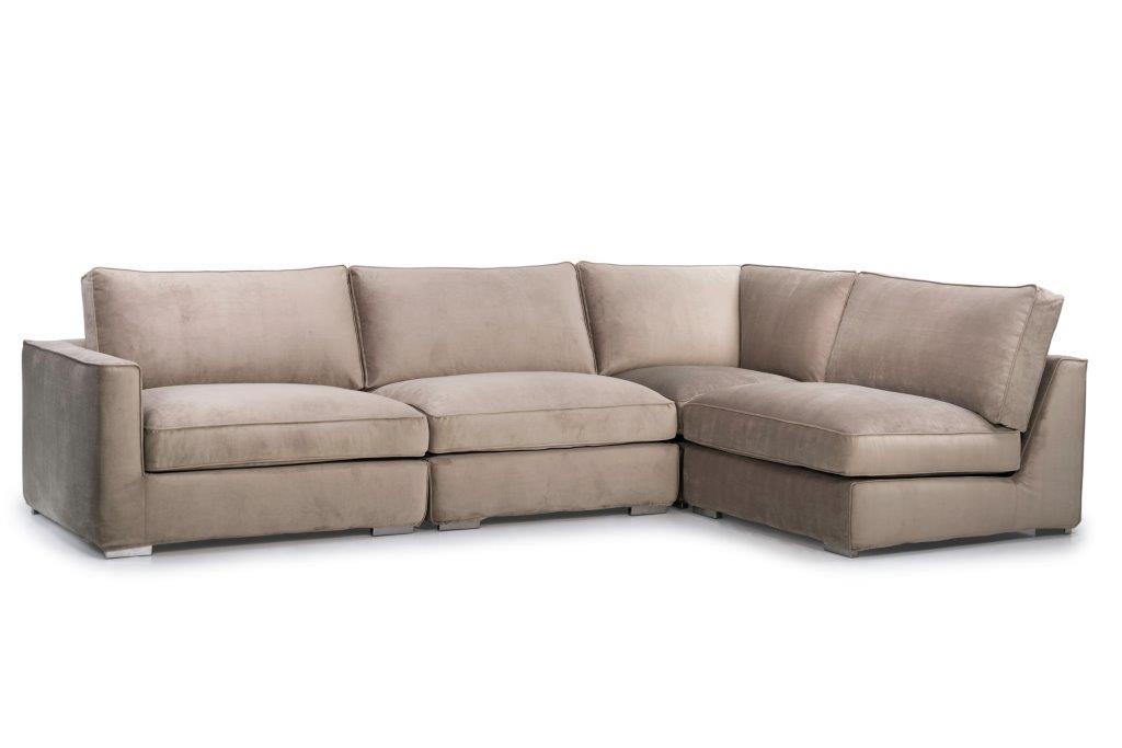 LORRA 1,5+1,5+90+1,5 (PARIS elephant 25) side softnord soft nord scandinavian style furniture modern interior design sofa bed chair pouf upholstery