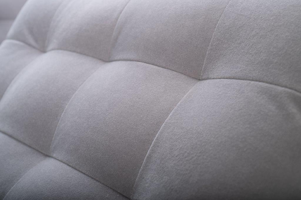 PORTO back cushion no buttons (TRENTO 3.1 light grey) softnord soft nord scandinavian style furniture modern interior design sofa bed chair pouf upholstery