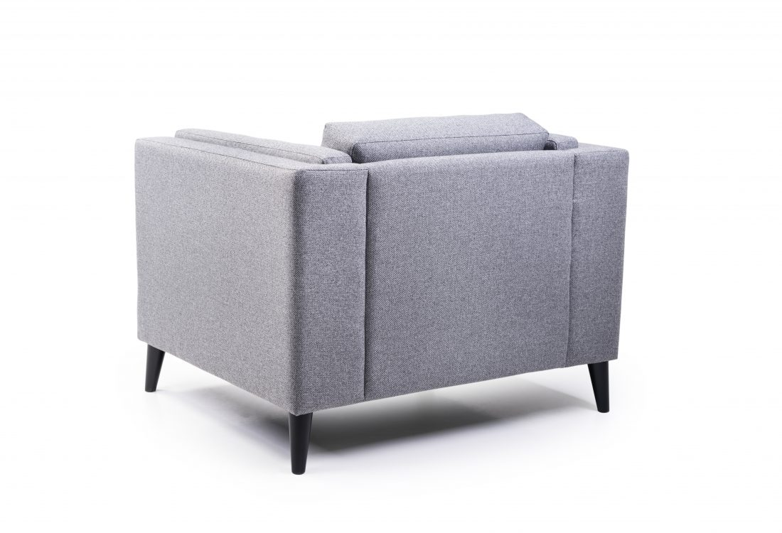 MESSI 1 seater (GOLF 3 grey) back