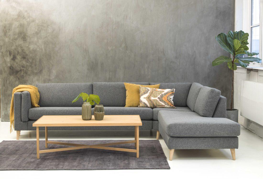 Copenhagen sofabord v.0165904 Scottsdale teppe 160×230 Dark grey vnr. 8946156
