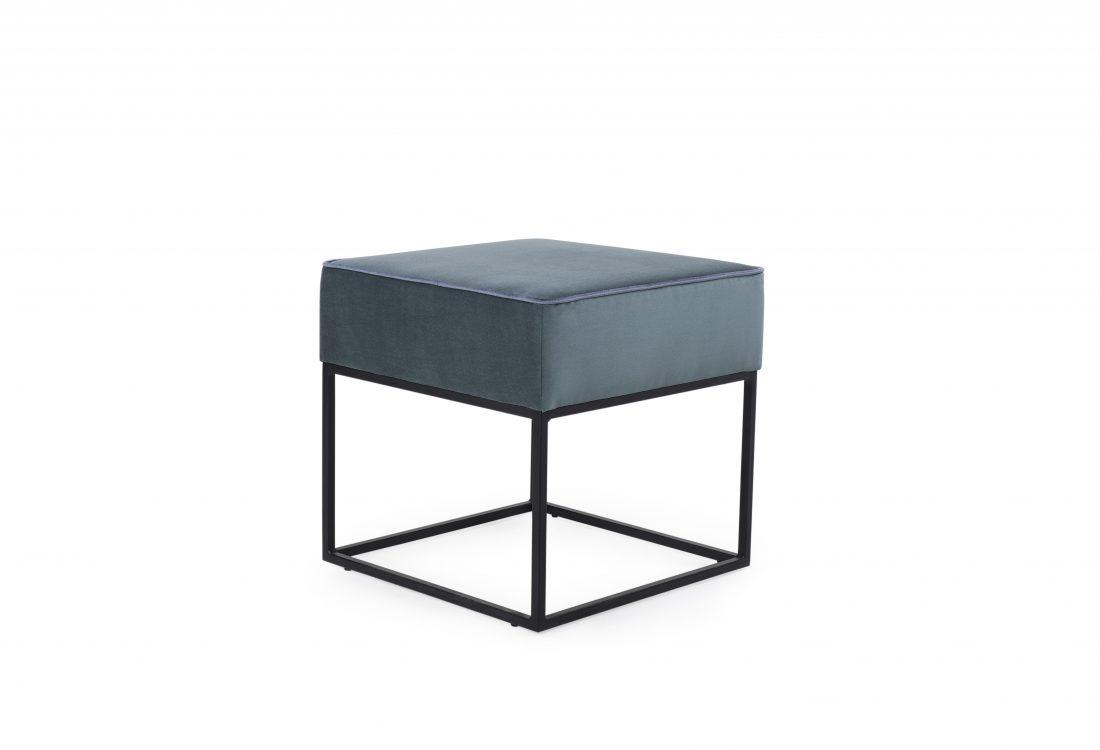 TITO pouffe (DIAMOND 504, RIVIERA 3 grey)