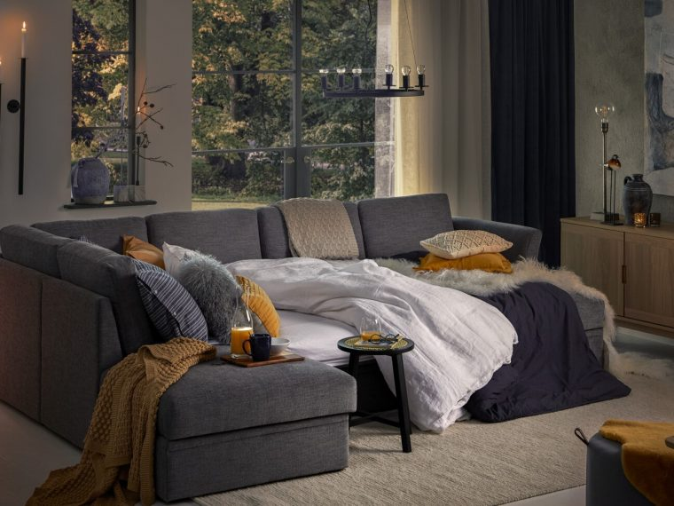 etna sleeping sofa scandinavian style softnord